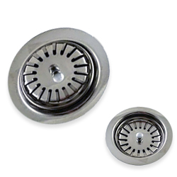 Stainless Steel Wash Basin Sink Strainers SS Sieves
